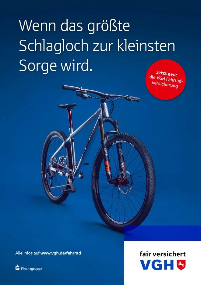 Werbefotografie-Fahrrad